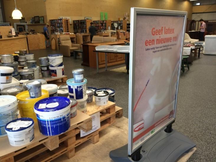 Verfwinkel Den Haag : Verfrecycling en hergebruik